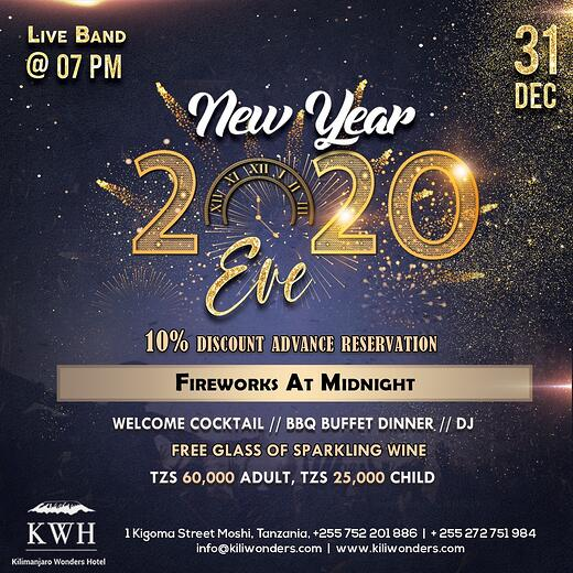 New Years eve celebration